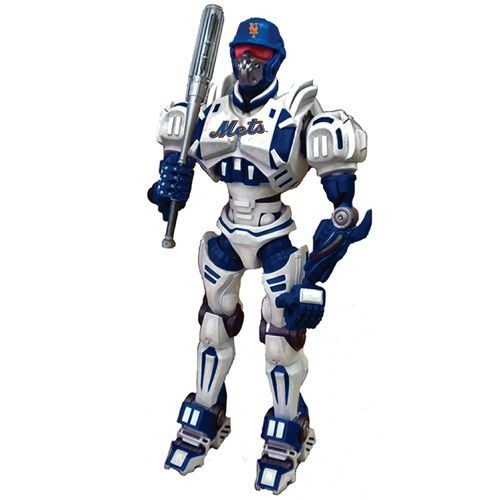 Mlb Baseball New York Mets Robots Figurines - 1263301168 - New York Mets Fox Sports Robot 1263301168