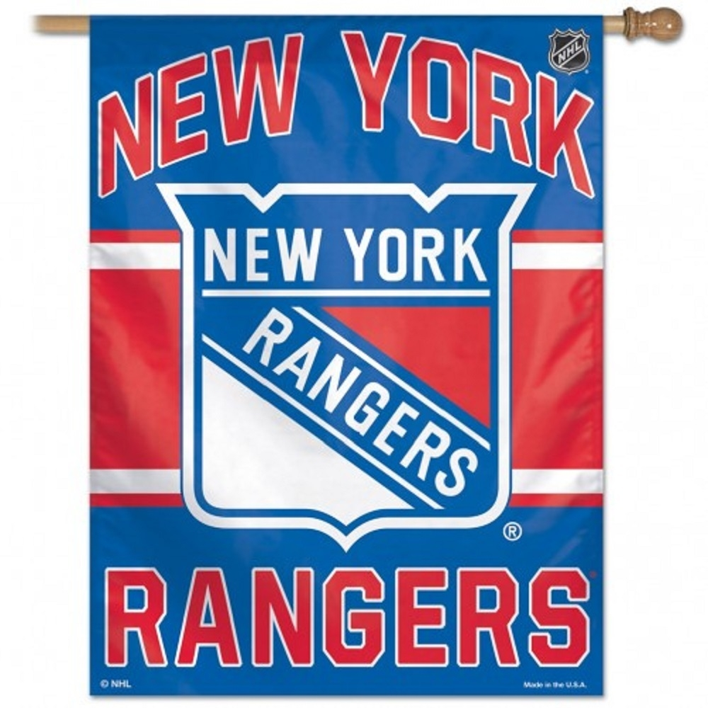New York Rangers Banner 28x40 - 3208501523 - Nhl Hockey New York Rangers Banners 3208501523