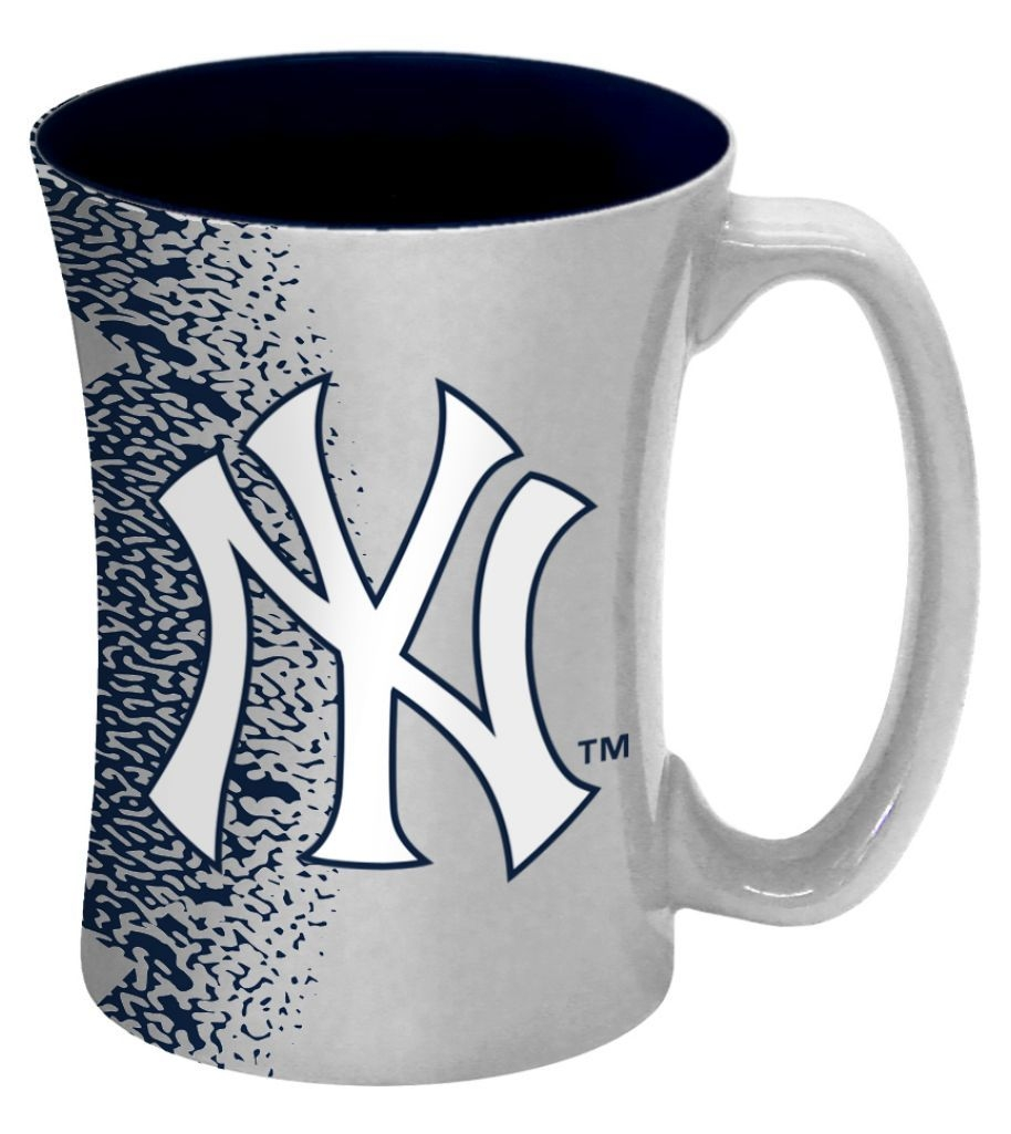 Mlb Baseball New York  Coffee Mugs - 8886013610 - New York  Coffee Mug-14 Oz Mocha 8886013610