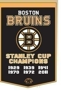 Boston Bruins Banner - 78020 - Nhl Hockey Boston Bruins Banners 78020