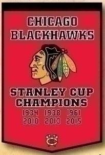 Chicago Blackhawks Banner - 78010 - Nhl Hockey Chicago Blackhawks Banners 78010