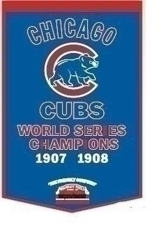 Chicago Cubs Banner - 76145 - Mlb Baseball Chicago Cubs Banners 76145