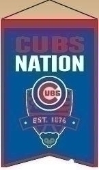 Chicago Cubs Nations Banner - 30504 - Mlb Baseball Chicago Cubs Banners 30504
