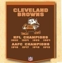 Cleveland Browns Banner - 77060 - Nfl Football Cleveland Browns Banners 77060