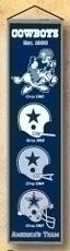 Dallas Cowboys Heritage Banner - 44016 - Nfl Football Dallas Cowboys Banners 44016