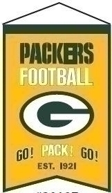 Nfl Football Green Bay Packers Banners - 30107 - Green Bay Packers Franchise Banner 30107