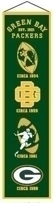 Nfl Football Green Bay Packers Banners - 44015 - Green Bay Packers Heritage Banner 44015