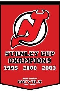 Nhl Hockey New Jersey Devils Banners - 78090 - New Jersey Devils Banner 78090