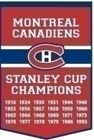 Nhl Hockey Montreal Canadiens Banners - 78030 - Montreal Canadiens Banner 78030