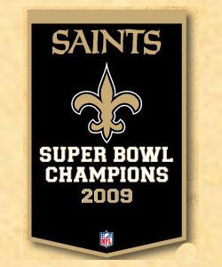 New Orleans Saint Banner - 77035 - Nfl Football New Orleans Saints Banners 77035