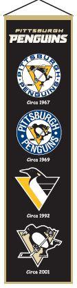 Pittsburgh Penguins Heritage Banner - 47008 - Nhl Hockey Pittsburgh Penguins Banners 47008