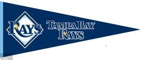 Tampa Bay Rays Traditions - 60260 - Mlb Baseball Tampa Bay Rays Pennants 60260