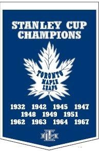 Toronto Maple Leafs Banner - 78060 - Nhl Hockey Toronto Maple Leafs Banners 78060