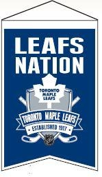 Toronto Maple Leafs Nations Banner - 30204 - Nhl Hockey Toronto Maple Leafs Banners 30204