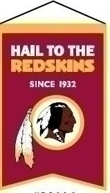 Nfl Football Washington Redskins Banners - 30116 - Washington Redskins Franchise Banner 30116