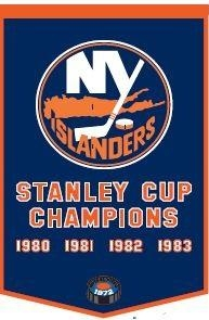 Nhl Hockey New York Islanders Banners - 78070 - New York Islanders Banner 78070