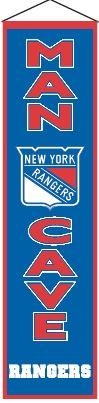 Nhl Hockey New York Rangers Banners - 49254 - New York Rangers Man Cave Banner 49254