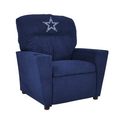 Dallas Cowboys Kids Microfiber Recliner - 106-1002 - Nfl Football Dallas Cowboys Kids Dish Sets 106-1002