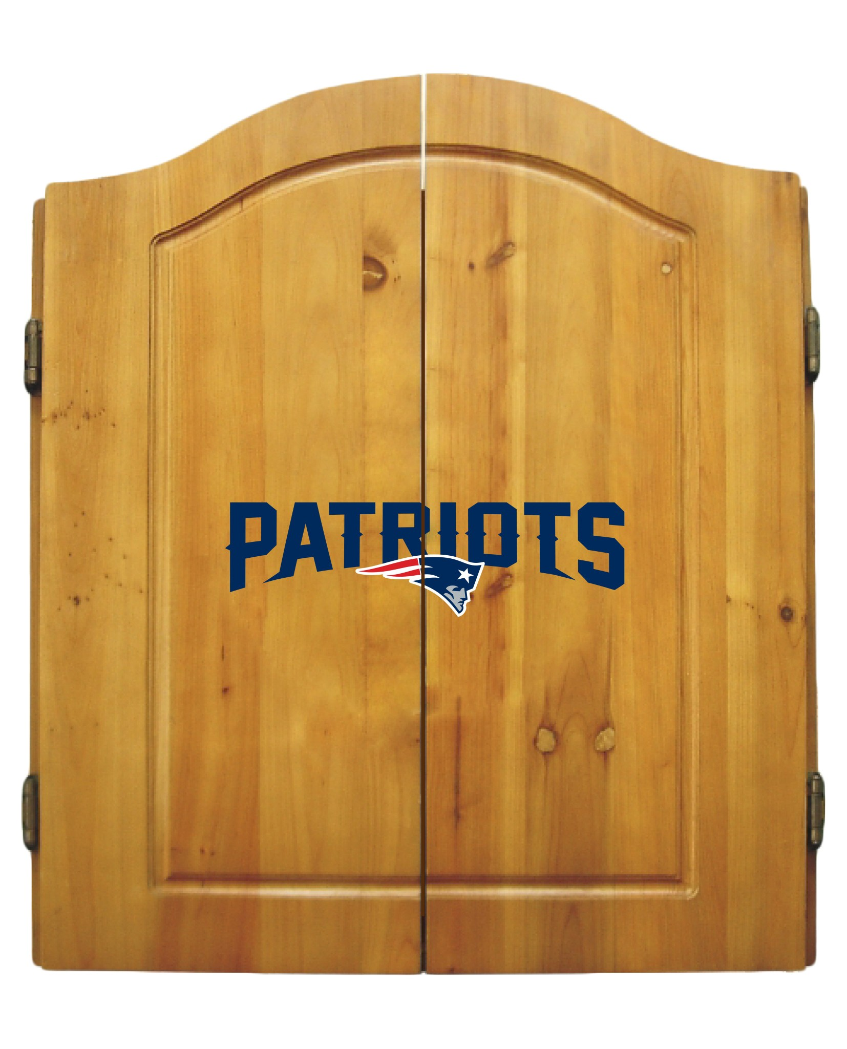 Nfl Football New England Patriots Bbq Sets - 20-1011 - New England Patriots Dart Cabinet Set 20-1011