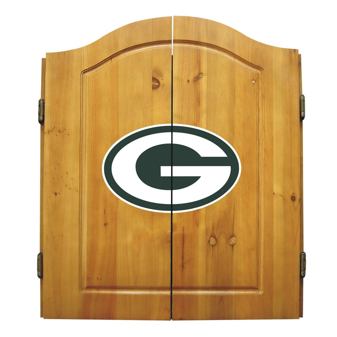 Green Bay Packers Dart Cabinet Set - 20-1001 - Nfl Football Green Bay Packers Bbq Sets 20-1001