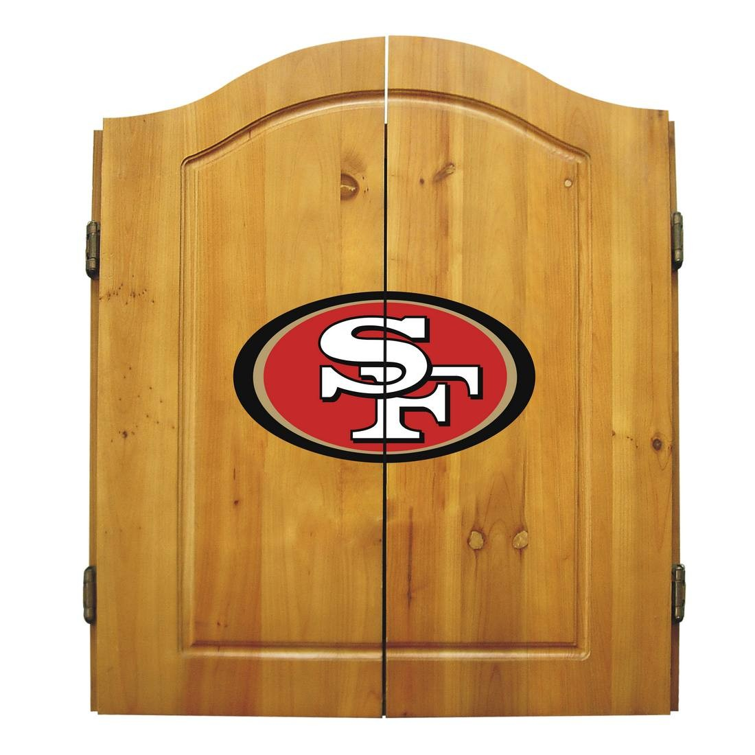 Nfl Football San Francisco 49ers Bbq Sets - 20-1005 - San Francisco 49ers Dart Cabinet Set 20-1005