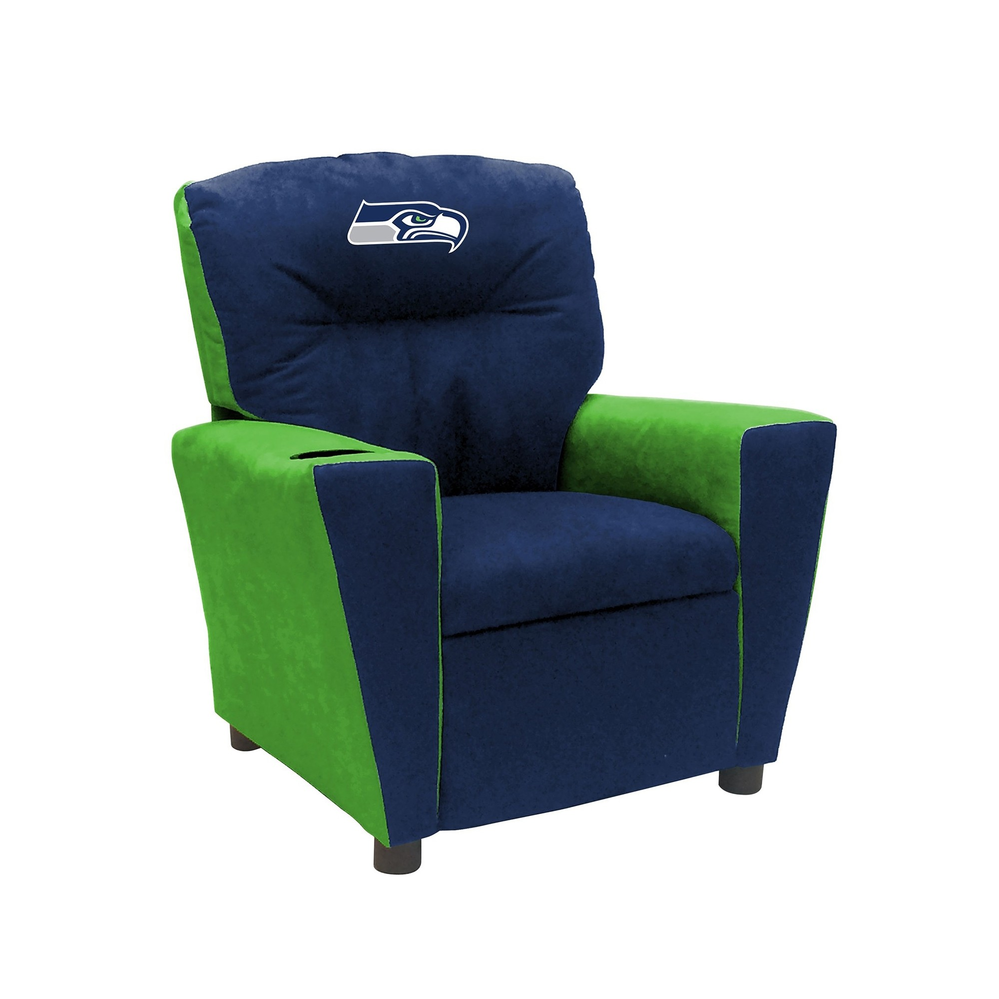 Nfl Football Seattle Seahawks Kids Dish Sets - 122-1024 - Seattle Seahawks Fan Favorite Recliner; Kids 122-1024
