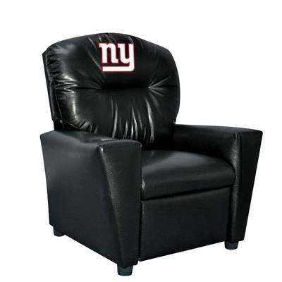 New York  Kids Faux Leather Recliner - 107-1013 - Nfl Football New York  Kids Dish Sets 107-1013