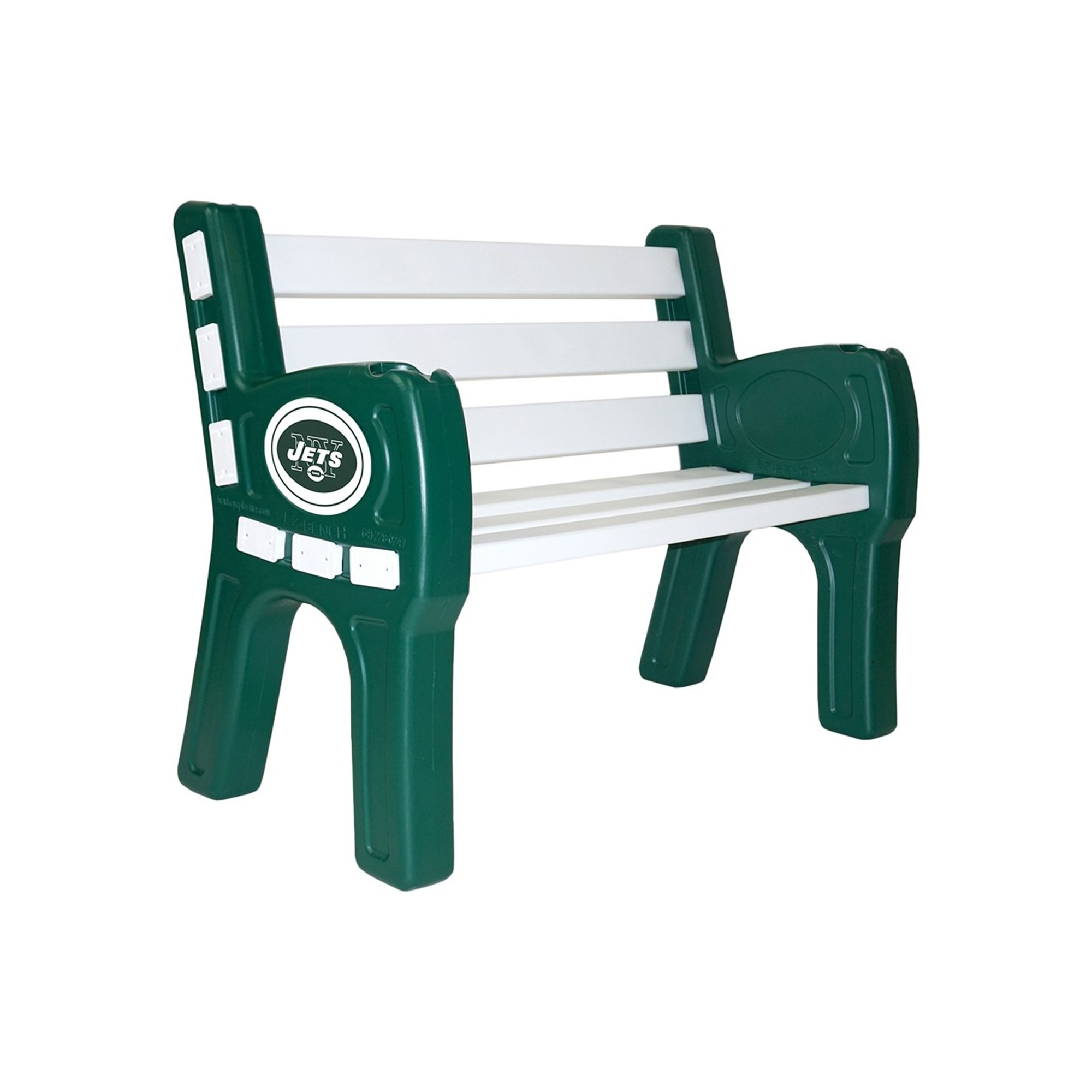 Nfl Football New York Jets Plastic Parking Sign - 188-1012 - New York Jets Park Bench 188-1012