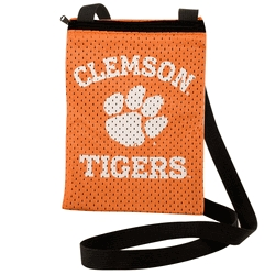 Clemson Tigers Game Day Pouch - 100103-clem - Handbags; Wallets Cases Ncaa University 100103-CLEM