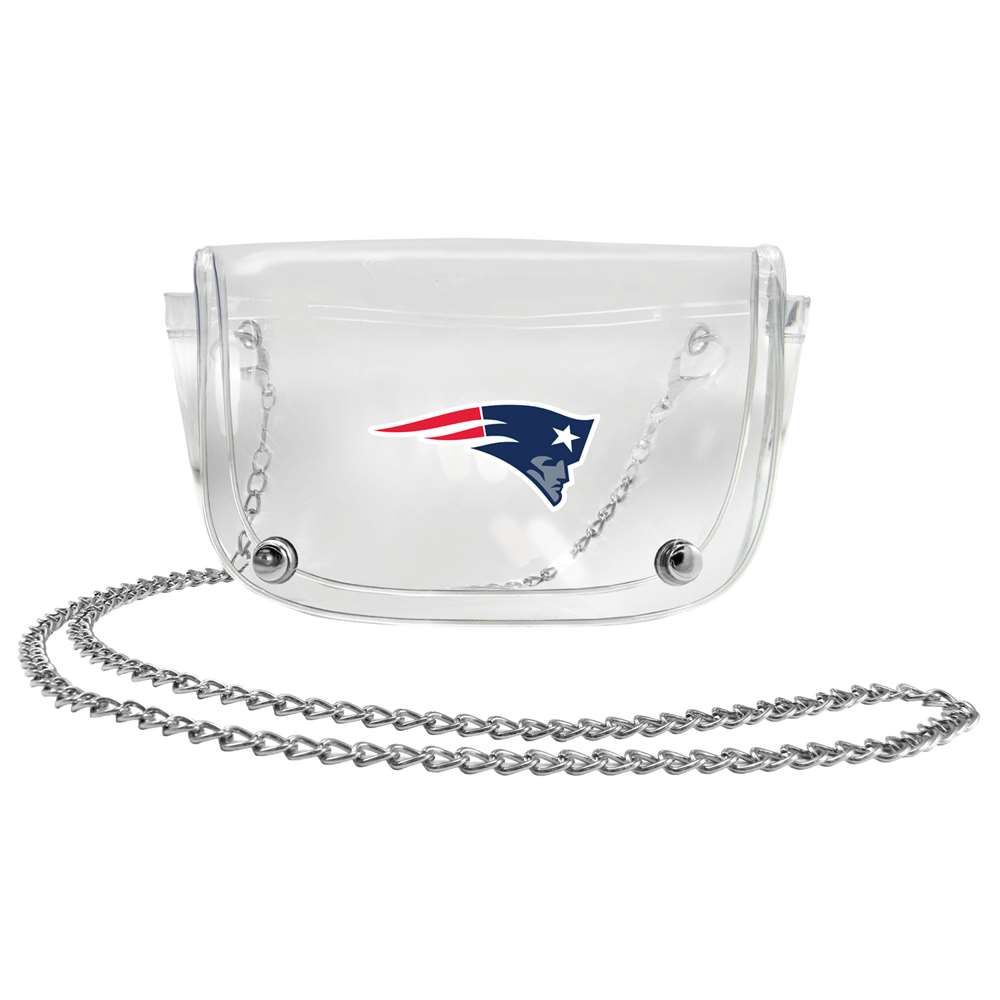 Fitness Weighted Jackets Body Weights Adult Weighted Waist Belts - 301317-pats - New England Patriots Clear Waist Pack 301317-PATS
