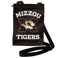 Missouri Tigers Game Day Pouch - 100103-umis - Handbags; Wallets Cases Ncaa U Of 100103-UMIS