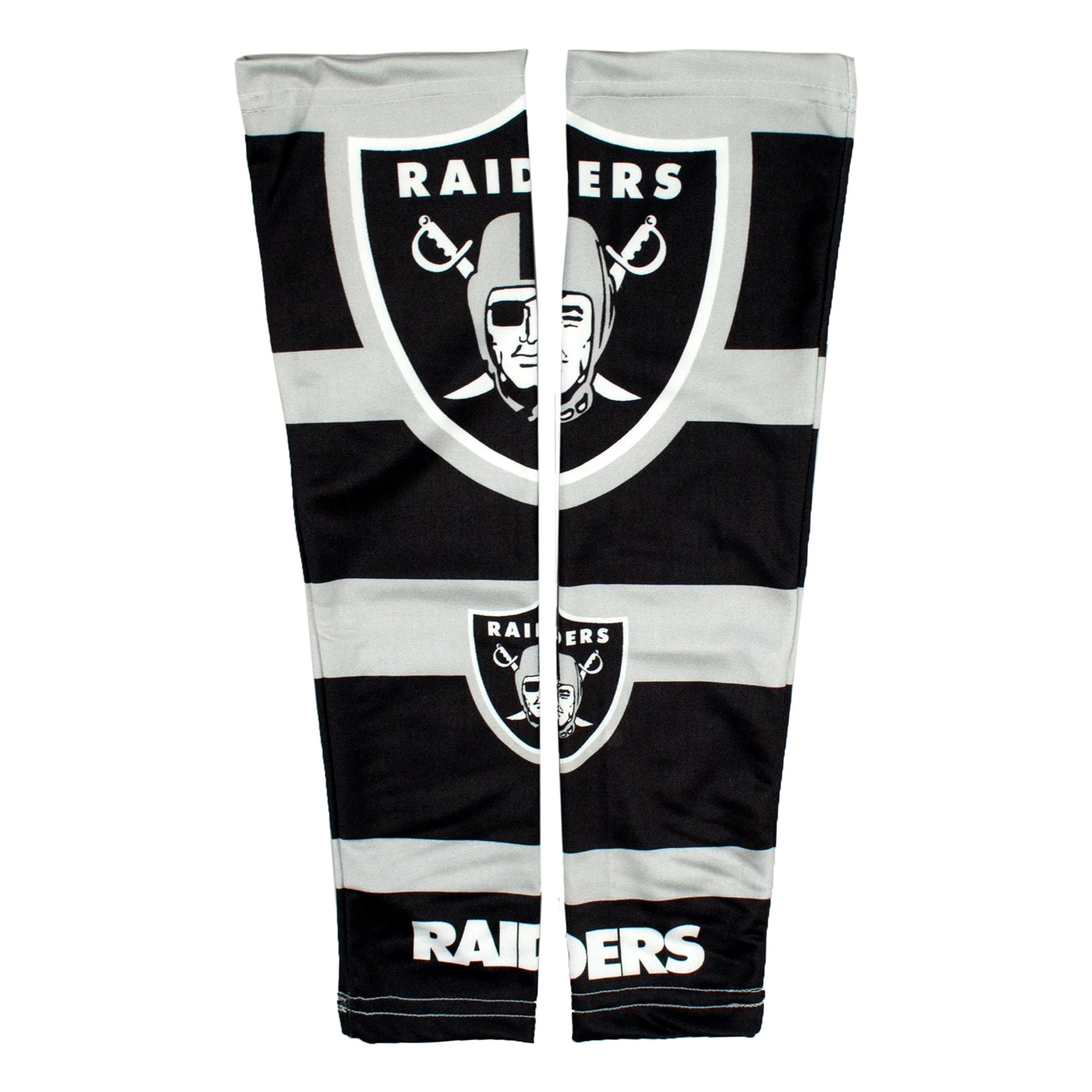 Football Nfl Football Oakland Raiders Strong Arm Sleeves - 300612-raid - Oakland Raiders Strong Arm 300612-RAID