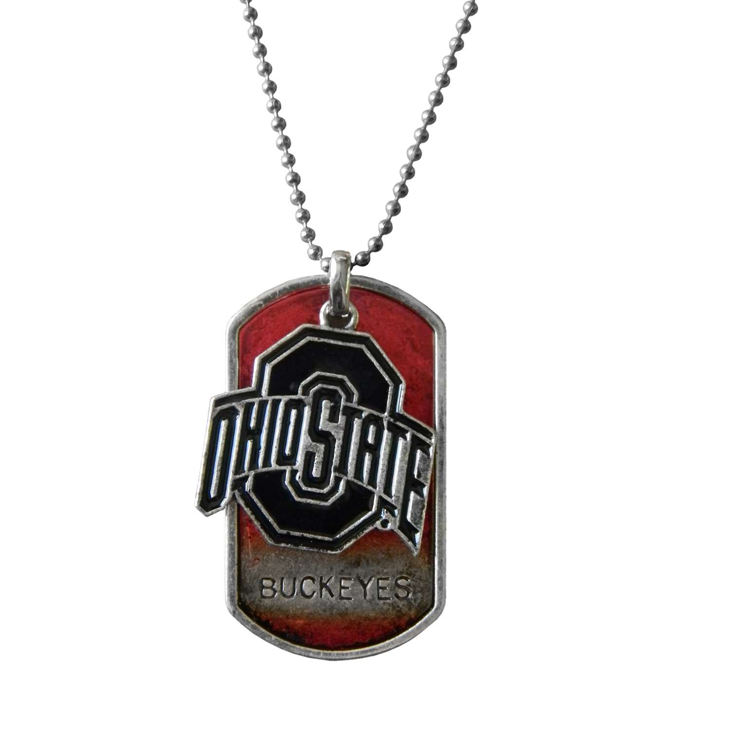 Tennis Gifts Executive Gifts - 100424-ohsu - Ohio State University Dog Tag Charm 100424-OHSU