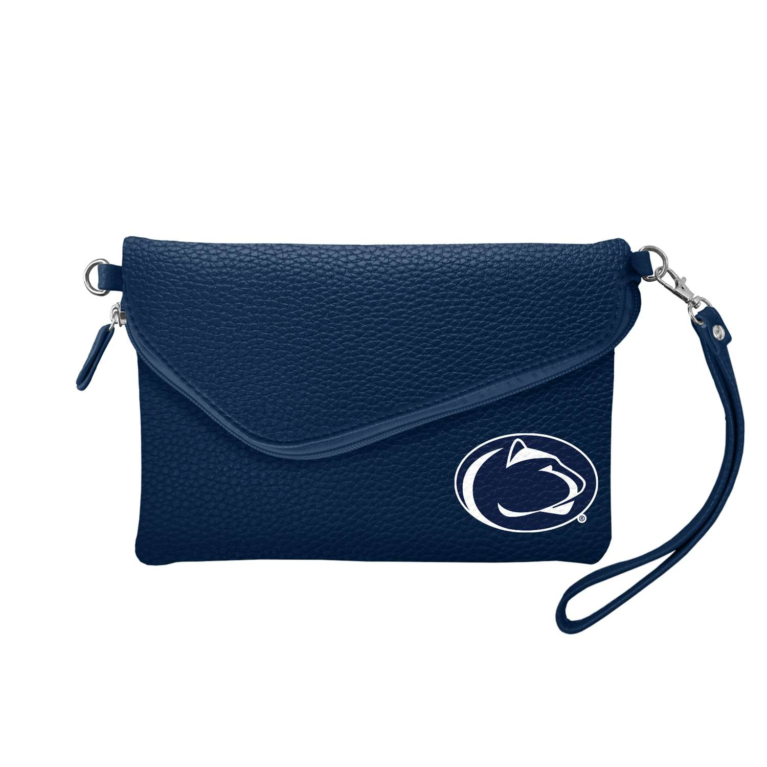 Ncaa College California University Of Pennsylvania Cup Vulcans Bath - 100432-psu-navy - Pennsylvania State University Fold Over Crossbody Pebble 100432-PSU-NAVY