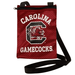 South Carolina Fighting Gamecocks Game Day Pouch - 100103-uscg - Handbags; Wallets Cases Ncaa U Of 100103-USCG