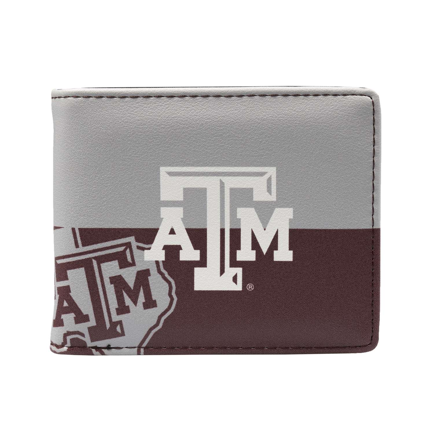 Ncaa College Texas Wesleyan University Txwes Rams Pro Binders - 100903-txam - Texas A & M University Bi-fold Wallet 100903-TXAM