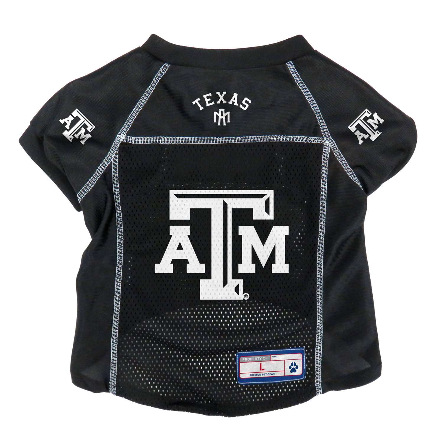 Ncaa College College Of New Jersey Tcnj Lions Pet Fan Gear - 120134-txam-l - Texas A & M University Pet Jersey 120134-TXAM-L