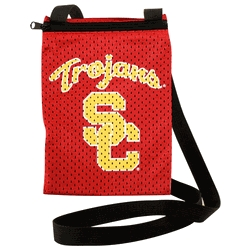 Usc Trojans Game Day Pouch - 100103-usct - Handbags; Wallets Cases Ncaa Southern California U Of 100103-USCT