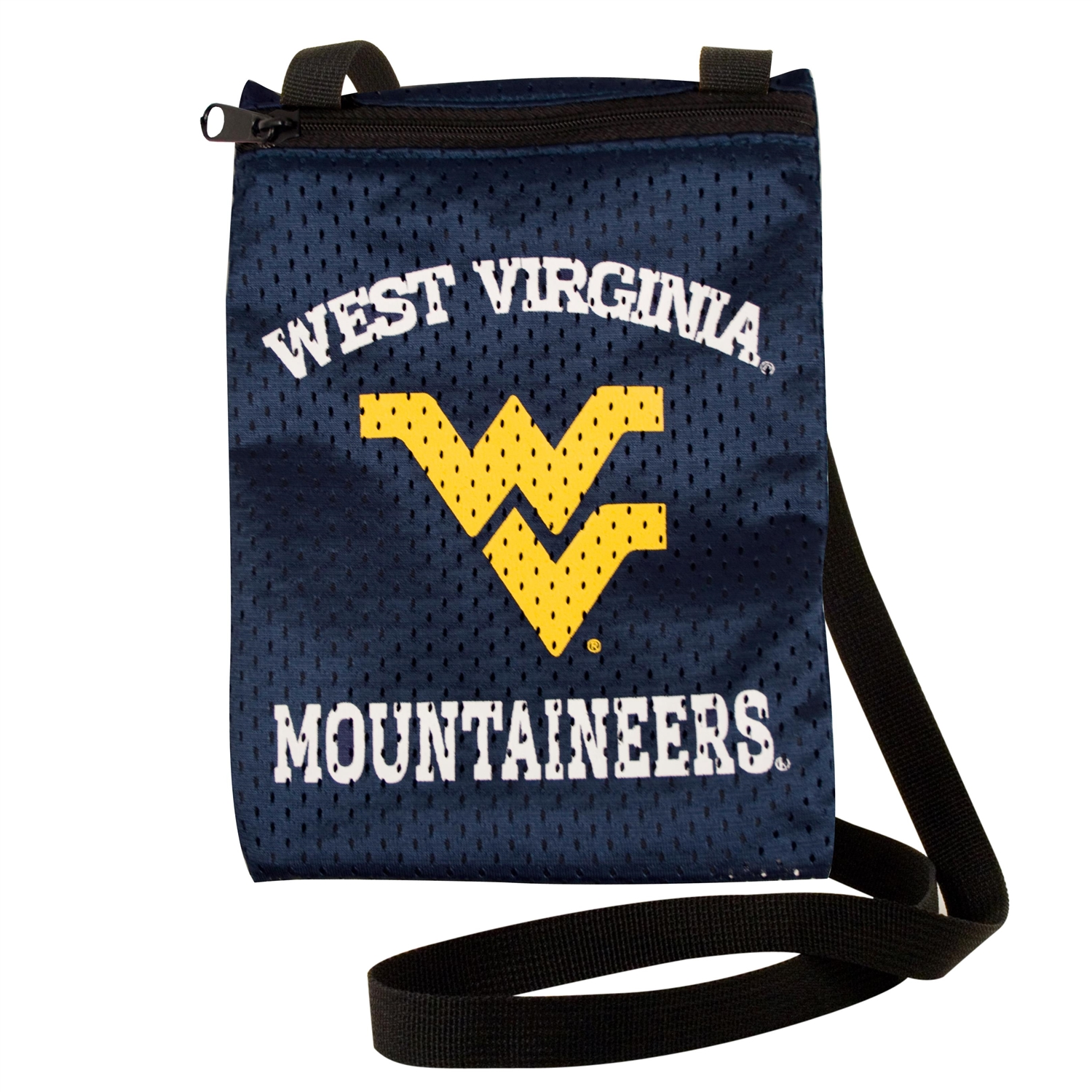 Ncaa College Dayspring Eagles Toys Games Puzzles Games - 100103-wvu-1 - West Virginia University Game Day Pouch 100103-WVU-1