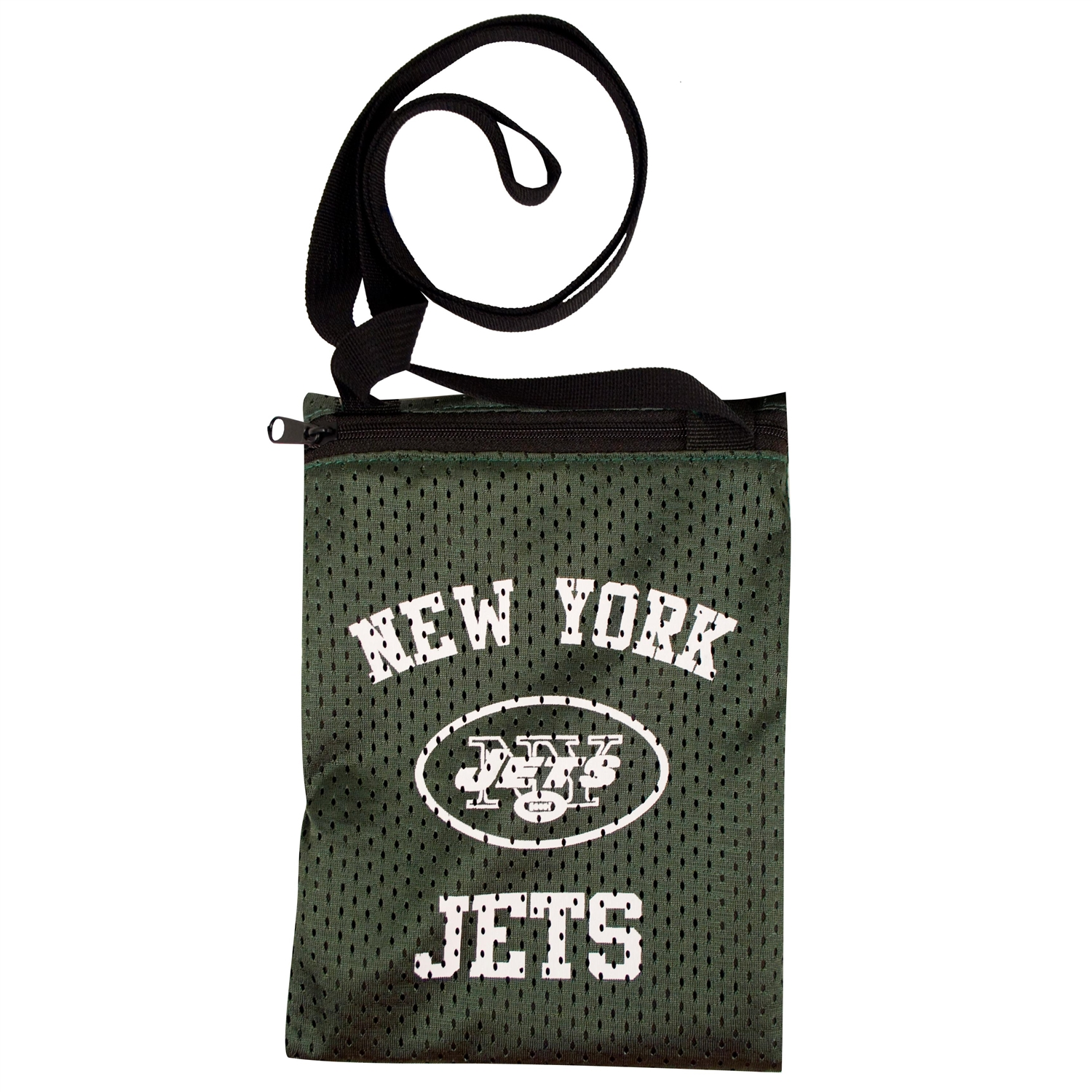 Nfl Football New York Jets Toys Games Puzzles Games - 300103-jets - New York Jets Game Day Pouch 300103-JETS