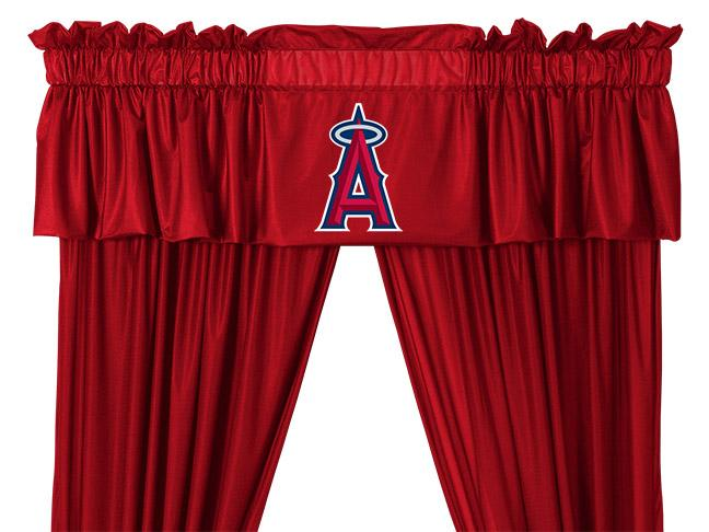 Valance Angels - Bright Red - 03jrval3ang8814 - Mlb Baseball Los Angeles Angels Of Anaheim Kitchen Dining Tumblers And Pint Glasses 03JRVAL3ANG8814