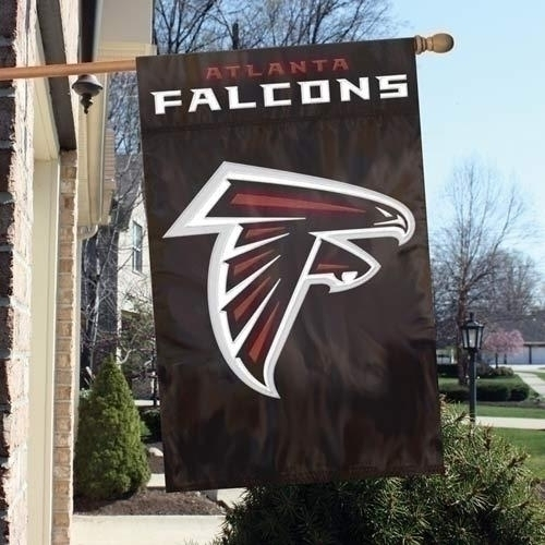 Nfl Football Atlanta Falcons Banners - Afat - Atlanta Falcons Appliqu Banner Flag AFAT