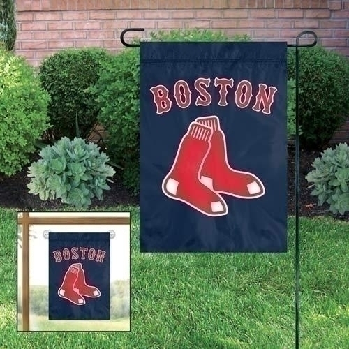 Mlb Baseball Boston Red Sox Garden Flags - Gfbos - Boston Red Sox Garden/window Flag GFBOS