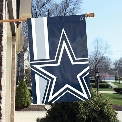 Dallas Cowboys Bold Logo Banner - Blda - Nfl Football Dallas Cowboys Banners BLDA