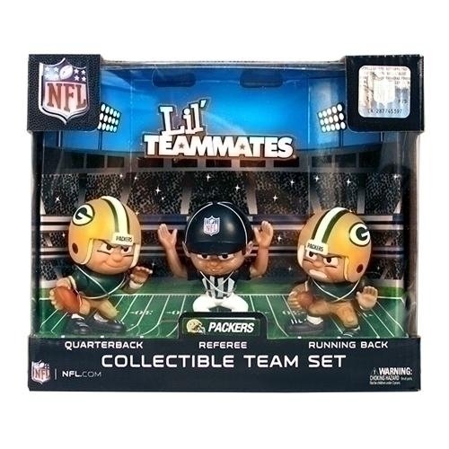 Green Bay Packers Lil' Teammates Team Set - Lt3pgb - Nfl Football Green Bay Packers Bbq Sets LT3PGB
