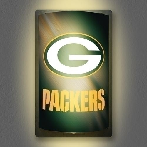 "Nfl Football Green Bay Packers Signs - Mggb - Green Bay Packers Motiglow"" Light Up Sign MGGB"
