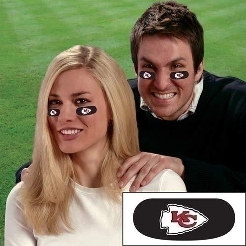Kansas City Chiefs Eye Black Strips - Ebkc - Nfl Football Kansas City Chiefs Other EBKC