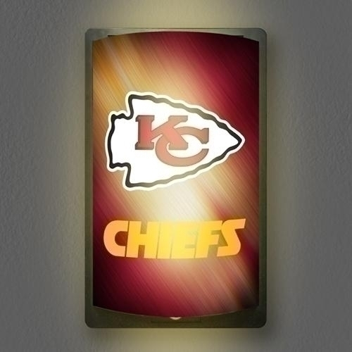 "Nfl Football Kansas City Chiefs Signs - Mgkc - Kansas City Chiefs Motiglow"" Light Up Sign MGKC"