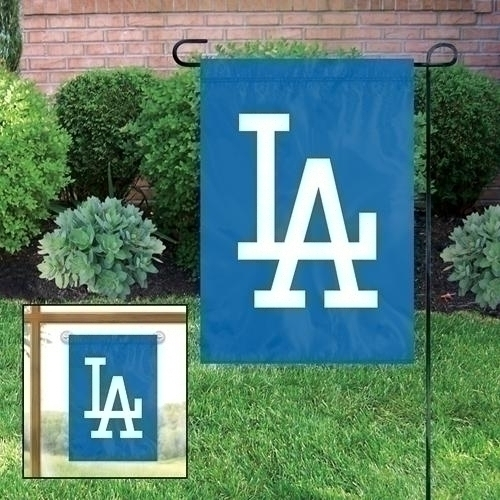 Los Angeles  Garden/window Flag - Gflad - Mlb Baseball Los Angeles  Lawn Garden Grill Covers Accessories GFLAD