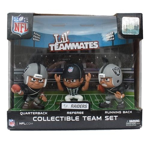 Oakland Raiders Lil' Teammates Team Set - Lt3pra - Nfl Football Oakland Raiders Bbq Sets LT3PRA